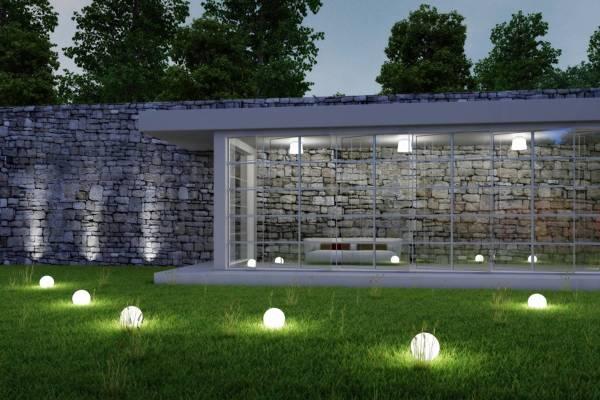 Iluminacin LED en jardn consejos  Brillante Iluminacin