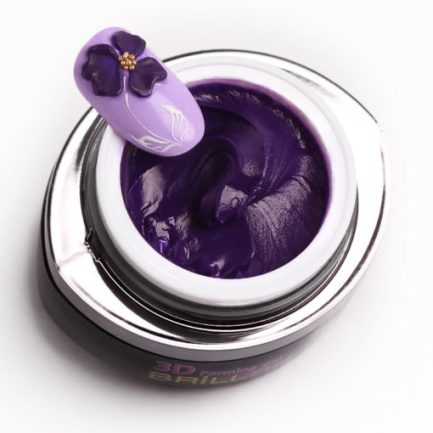 3D FORMING GEL - Dark Purple - 3ML - Brillbird България
