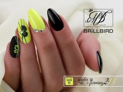 Spider Gel Black - 3 ml - Brillbird България