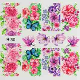 3D EFFECT STICKER B30