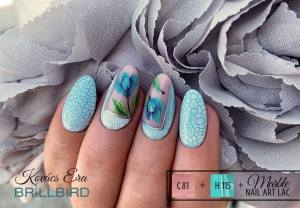 MARBLE NAIL ART LAC Effect