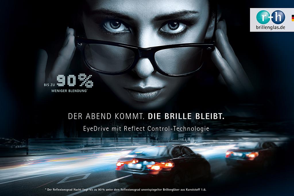 Das Brillenglas speziell zum Autofahren