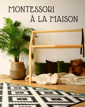 pédagogie Montessori à la maison