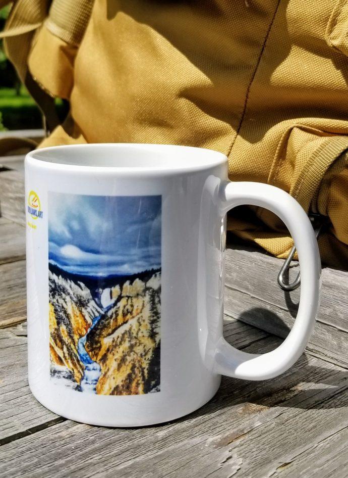 Norris Geyser Basin 11oz. Coffee Cup