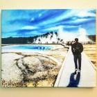 Norris Geyser Basin Canvas Print
