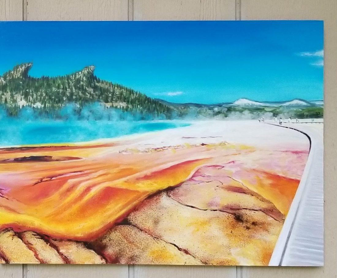 Grand Pana Prismatic Painting