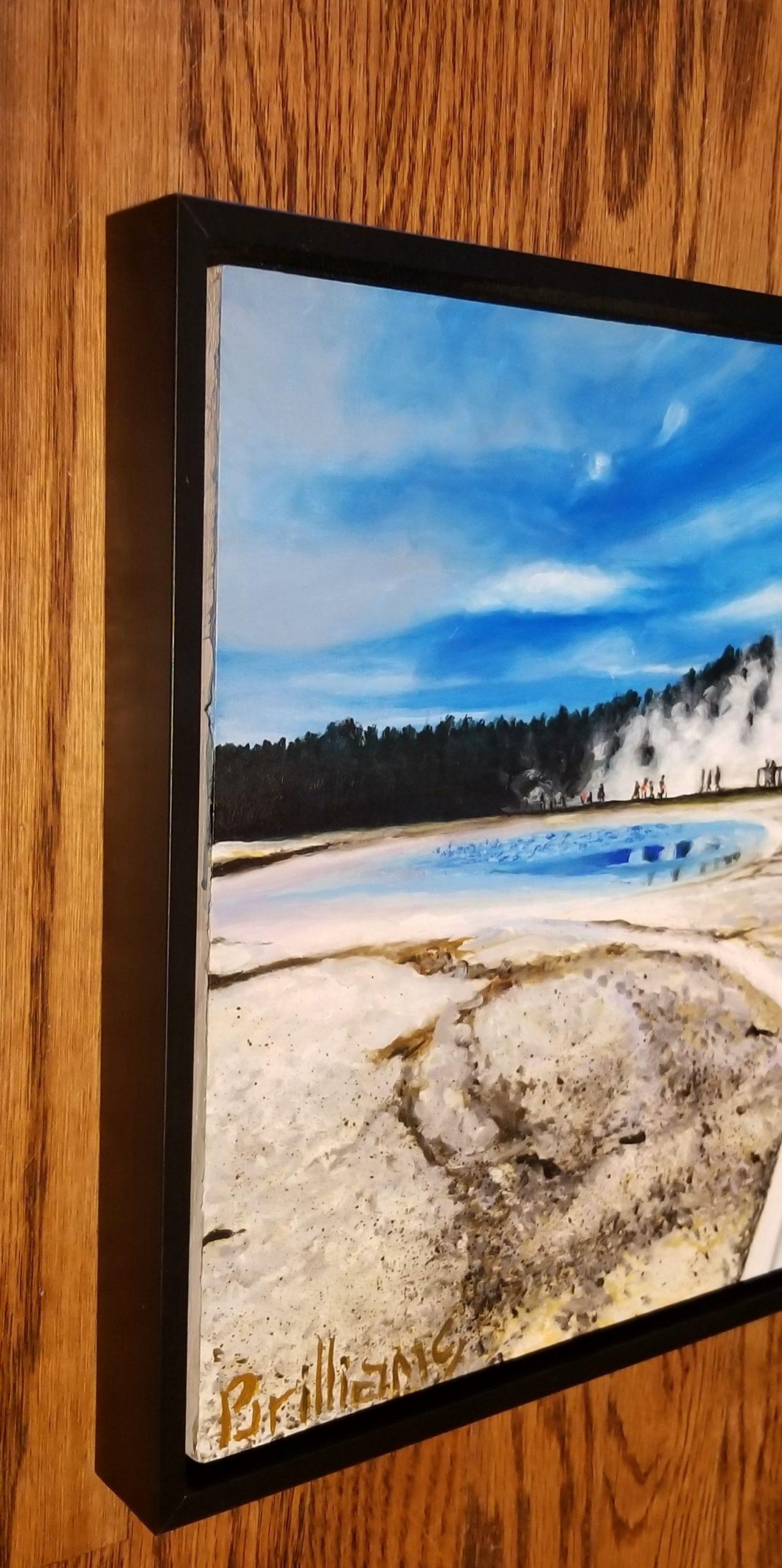 Norris Geyser Basin Painting