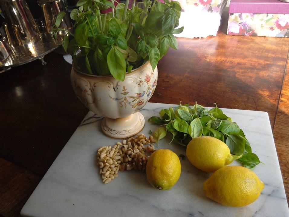 Basil & Lemon Zesty Chicken