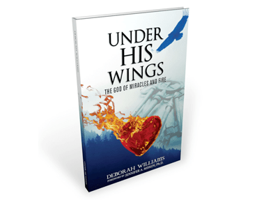 Under His Wings – Book Cover Design