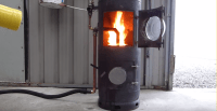 [Video] DIY High Efficiency, High Output Waste Oil Burner