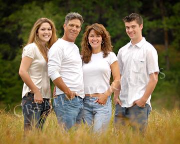 Outdoor FamilyPortrait