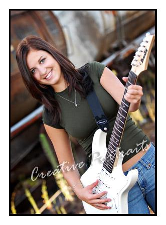 Guitar SeniorPortraits