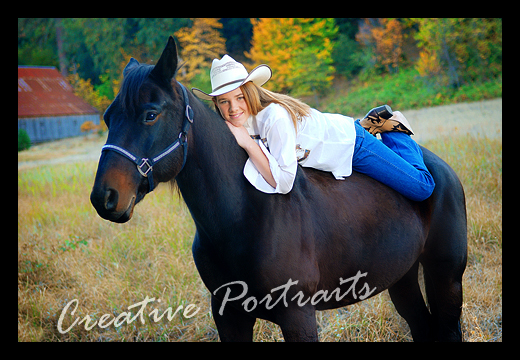 Senior with Horse