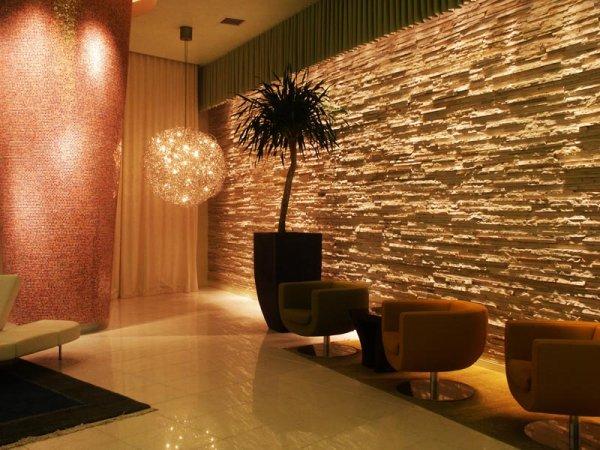 Vue Condo Lobby  Entrance  Brilliant Lighting Design