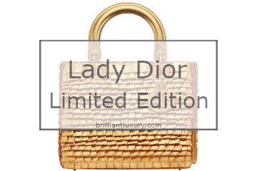 Lady Dior Art Bags Limited Edition 2019