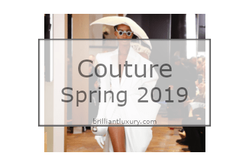 Fashion Couture Design Gowns Spring 2019
