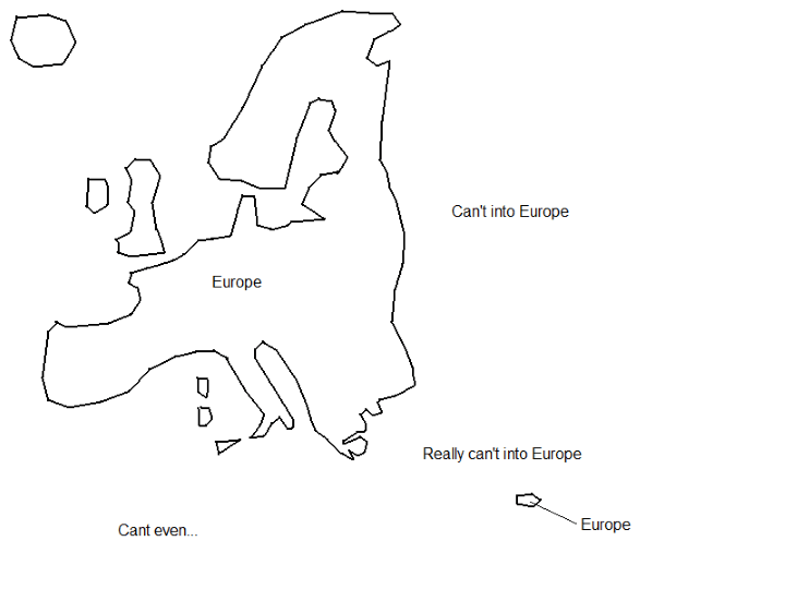 Hilariously Bad Attempts By Americans to Draw Europe From