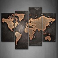 37 Eye-Catching World Map Posters You Should Hang On Your ...