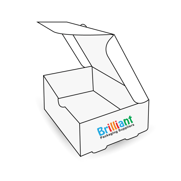 White Business Card Boxes
