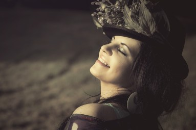 pleased woman