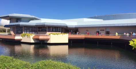 Odyssey building at Epcot
