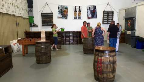 New tasting room at Greenbrier Valley Brewing Company