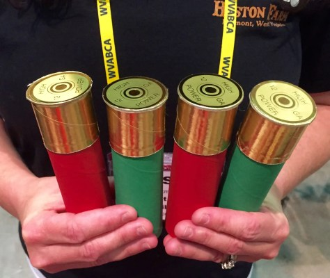 Shotgun shell four packs of moonshine