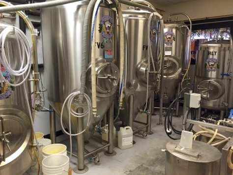 Antietam Brewery tanks