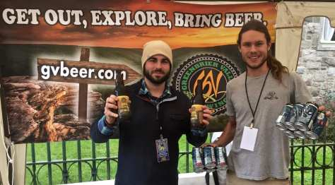 Greenbrier Valley Brewing Company took home the Bramwell Cup
