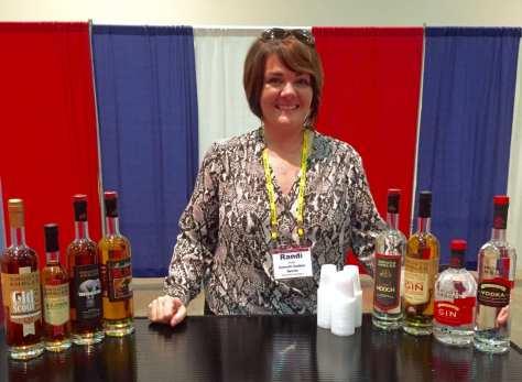 Randi Smith of Smooth Ambler Spirits in Maxwelton, WV