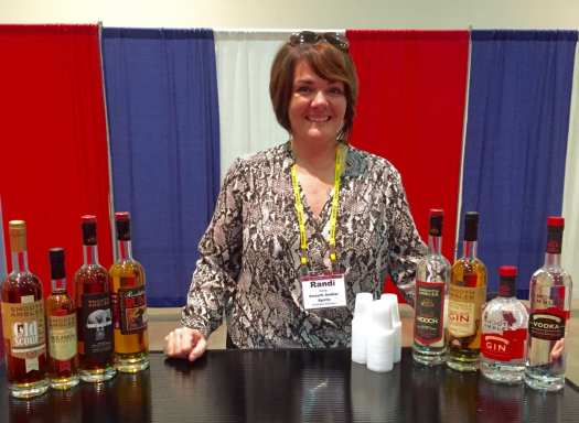 Randi Smith of Smooth Ambler Spirits in Maxwelton, WV