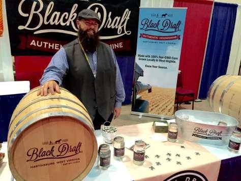 Glen Price, owner and distiller at Black Draft Distillery in Martinsburg