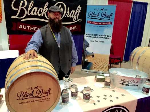 Glen Price, owner and distiller at Black Draft Distillery in Martinsburg