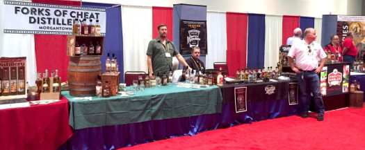 West Virginia craft distilleries prepare for the evening crowd