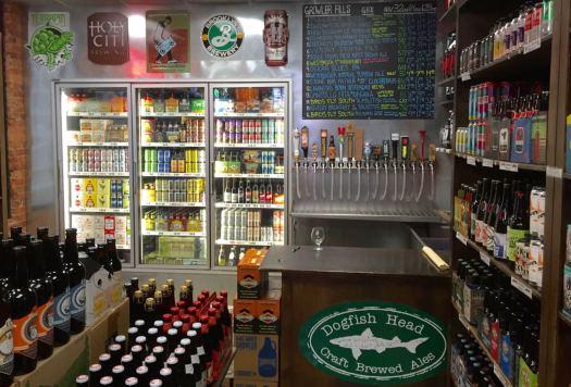 Greenville Beer Exchange inside