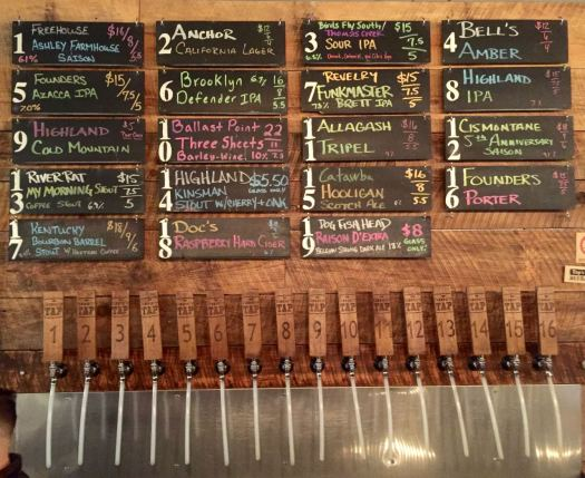 Greenville - The Community Tap taps