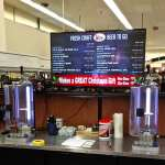 Drug Emporium growler filling station