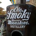 Ole Smoky Distillery at Moonshine Holler in Gatlinburg.