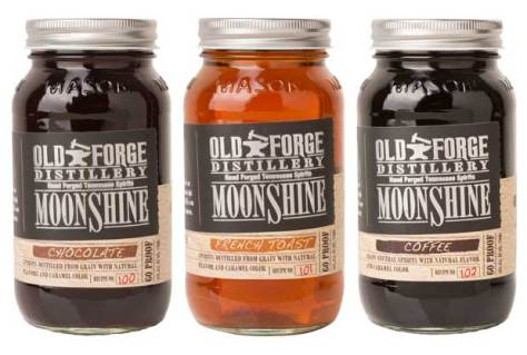 Old Forge moonshine flavors