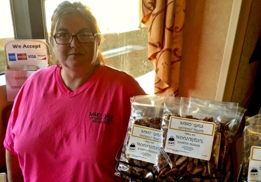 Moonshine Nuts from Sassy Gals Gourmet Treats include Appalachian 's moonshine