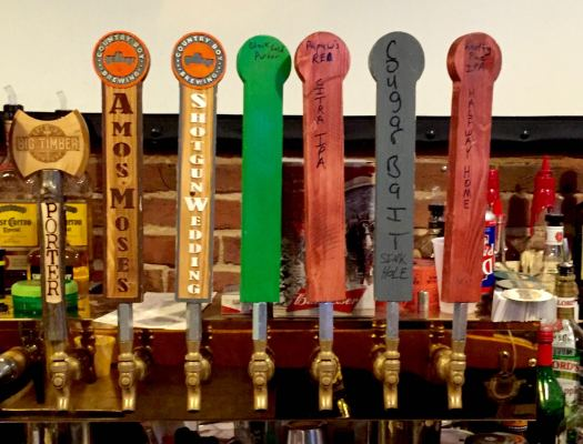 Country Boy tap takeover