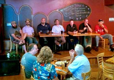 Ohio brewers panel and tasting. - Ohio Brew Week 2016