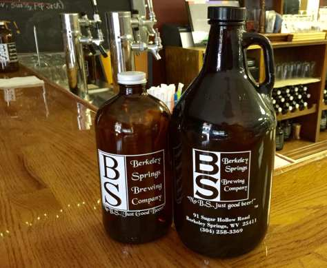 BSBC anniversary growlers