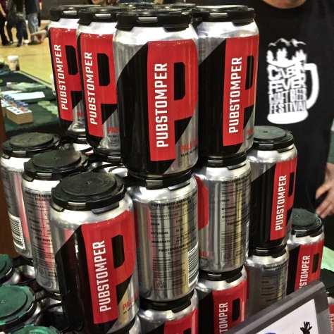cabin fever - pubstomper brewing