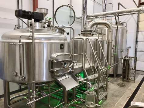 short story brewing brewhouse