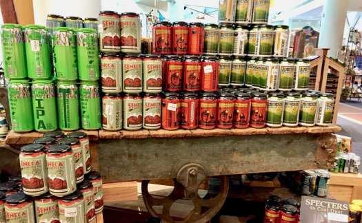 Tamarack beer merchandising