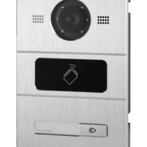 Hikvision Villa Door Station, 1 Button, Aluminium, PON, HD720P, IP65