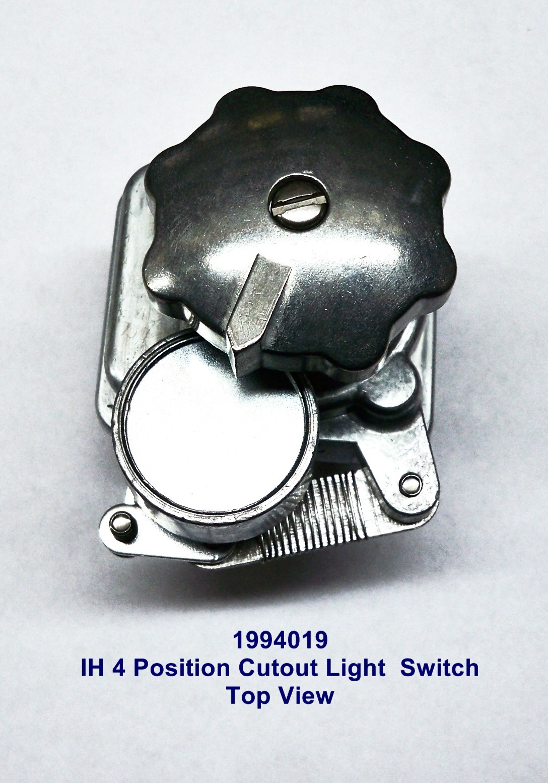 farmall cub 12 volt wiring diagram miata #1994019 ih / 4 position cutout light switch - the brillman company