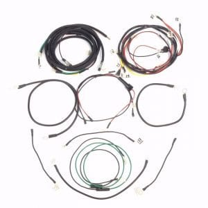 Ford 1958-1964 Model 501 To 4140 Diesel Complete Wire