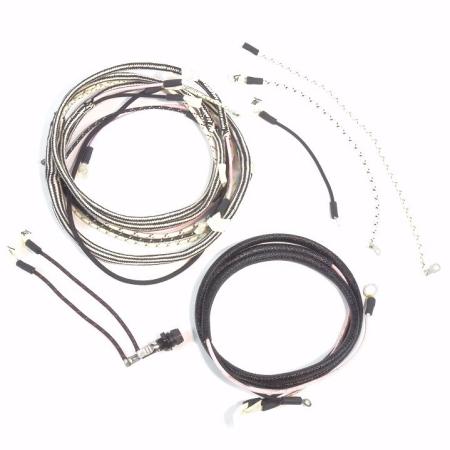 Farmall Cub Serial #501 To 115,402 Complete Wire Harness